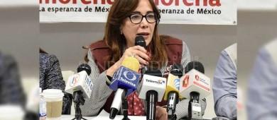 Visitará La PazYeidckol Polevnsky, presidenta nacional de Morena