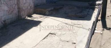 Calles del Centro Histórico de La Paz hechas pedazos