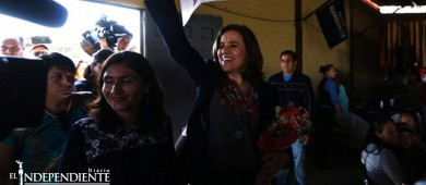 Centra Margarita Zavala campaña en segundo debate