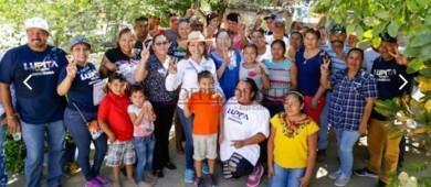 Conozco las necesidades de los maestros, mi compromiso es mejorar la educación: Lupita Saldaña