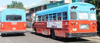 Sólo 6 de más de 80 unidades de transporte público de La Paz cuentan con rampa