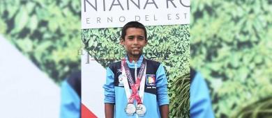 Suma clavados 7 medallas más para Sudcalifornia en la Olimpiada Nacional