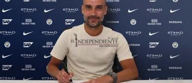 'Es un placer trabajar aquí'; Guardiola renovó contrato con Manchester City