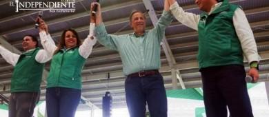 Duplicar la pensión para adultos mayores, propone Meade