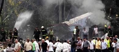 Más de 100 muertos por avionazo en Cuba, según CubaTV