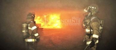 Regresan los incendios en construcciones abandonadas y pastizales en CSL