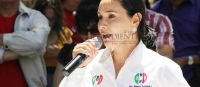 Es Nancy Sánchez la nueva delegada nacional del PRI en BCS
