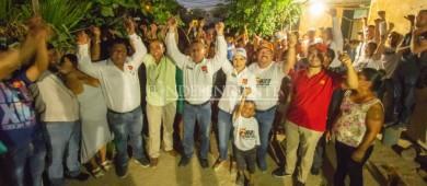 Ahora candidato del PVEM se suma al Dr. Ibarra y Gaby Montoya