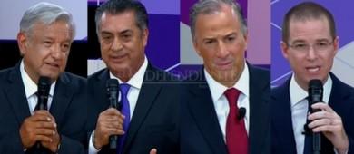 Reaccionan dirigentes partidistas de BCS al segundo debate presidencial