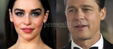 Emilia Clarke habla de su fallida noche al lado de Brad Pitt