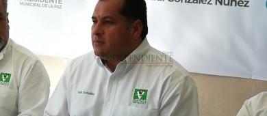 Saúl González en busca de aplicar la Ley de Participación Ciudadana en el municipio de La Paz