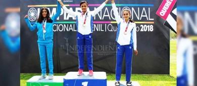 Oro y plata para el atletismo Sudcaliforniano en la Olimpiada Nacional