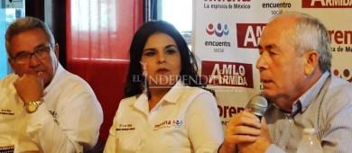 """Candidatos de coalición """"Juntos Haremos Historia"""" presentan agenda de trabajo"""