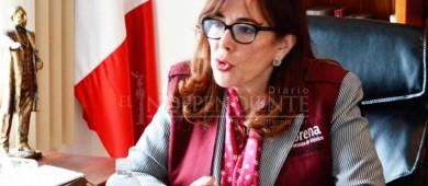 Confirmada la visita a La Paz de la líder nacional de MorenaYeidckol Polevnsky