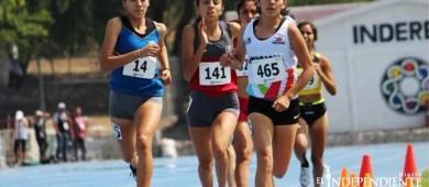 Ira Valeria González para su segunda medalla de oro