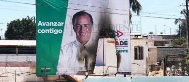Es un acto de desesperación la destrucción de publicidad electoral: Valdivia Alvarado