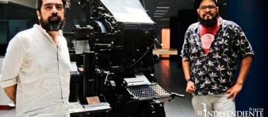Iván Ávila, en creación con Laboratorio Sensorial