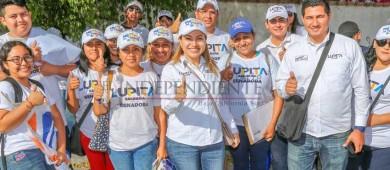 Nuestros Jóvenes necesitan oportunidades educativas, laborales, culturales y deportivas: Lupita Saldaña