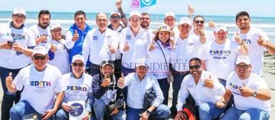 Defenderé los proyectos estratégicos que beneficiarán a BCS: Lupita Saldaña