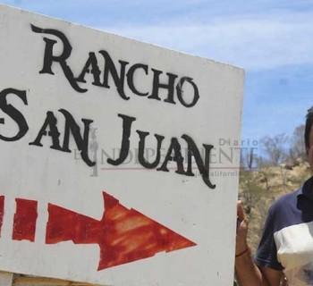 """""""Mienten… el rancho 'San Juan' sigue siendo propiedad de mi familia"""": Narciso Agúndez"""