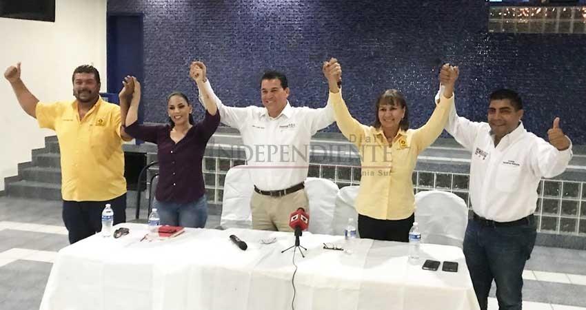 """Estamos hartos"""" emigran perredistas a la coalición Juntos haremos historia en BCS"""
