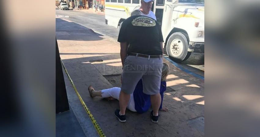 Una constante, lesiones en turistas que caminan por el centro de CSL