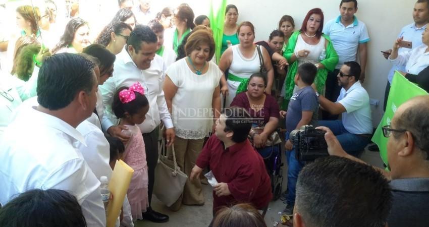 Alejandro Rojas del PVEM va por la inclusión de las personas con discapacidad en Los Cabos