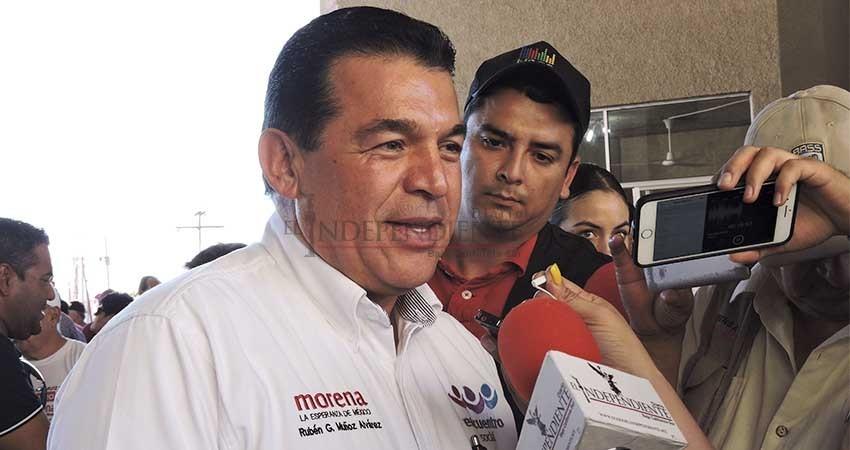 """Rectifica Rubén Muñoz: """"No existe minería sustentable"""""""