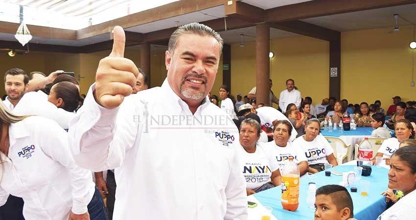 """El PAN va a """"arrasar"""" con Morena este primero de julio: Puppo"""