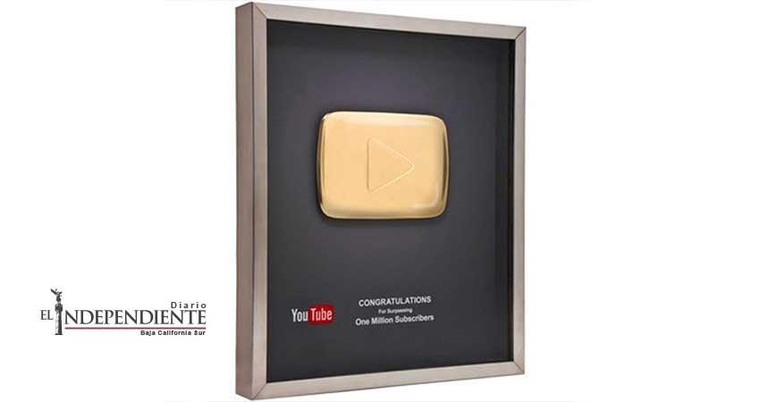 Imagen Televisión recibe Botón de Oro de YouTube