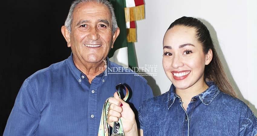 Cierra Paula Flores ciclo en la Universiada Nacional