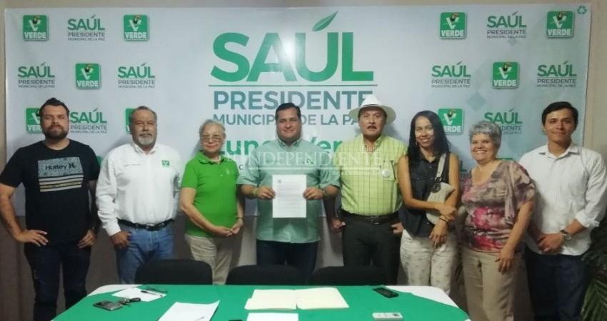 Saúl González Núñez a favor de un pacto de seguridad ambiental