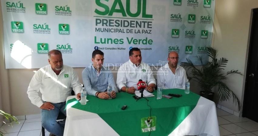 Presenta Saúl González estrategia para reordenar el Ayuntamiento de La Paz