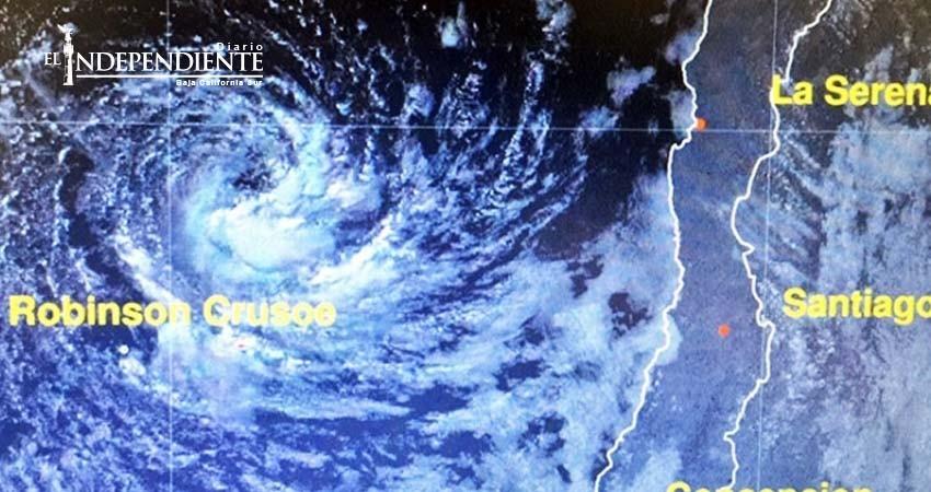 Aparece fenómeno 'extremadamente raro' en la costa de Chile