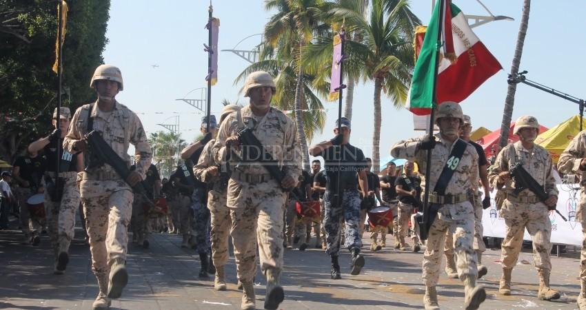 """Fuerzas Armadas, las más """"confiables"""" para los sudcalifornianos"""