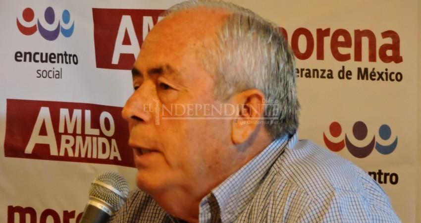 Campaña del PT en Los Cabos está apadrinada por Narciso Agúndez, acusa Leonel Cota