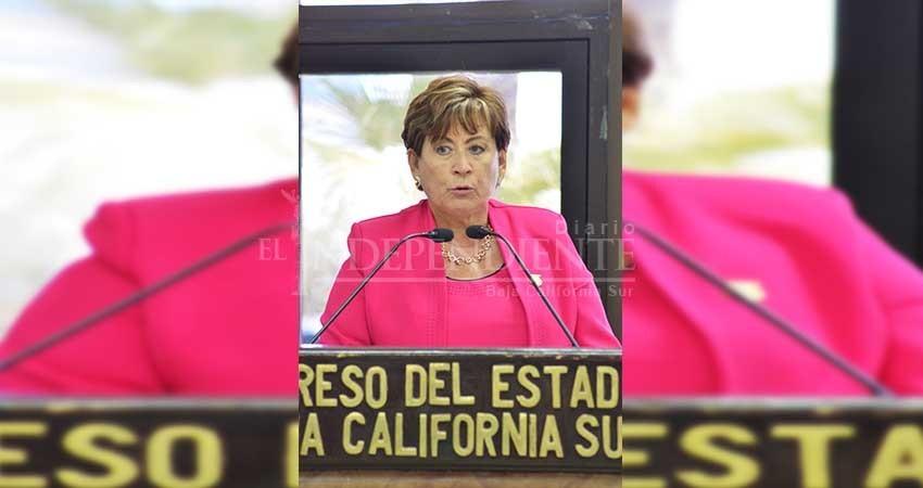 Solicita la diputada Cota Montaño que se informe sobre los acontecimientos en el Cereso de La Paz