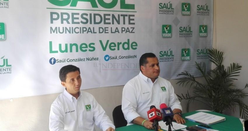 Se compromete Saúl González en apoyar al deporte y cultura en La Paz
