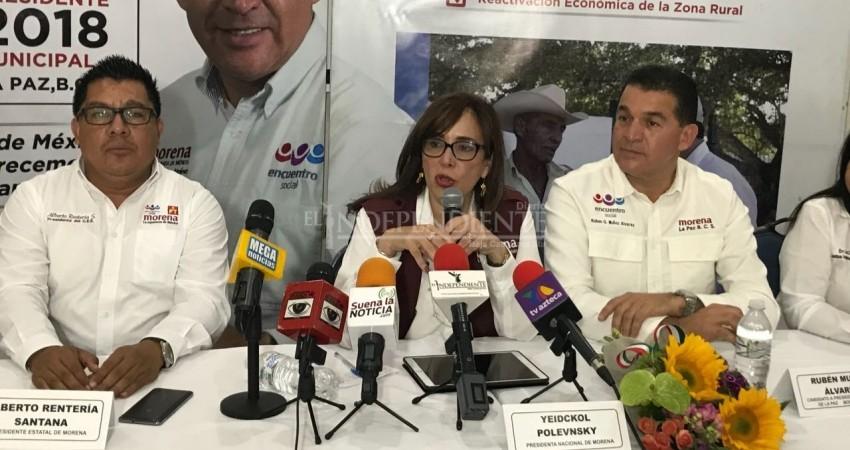 No más ratonerias: Polensky a Tonatiuh Sanchez