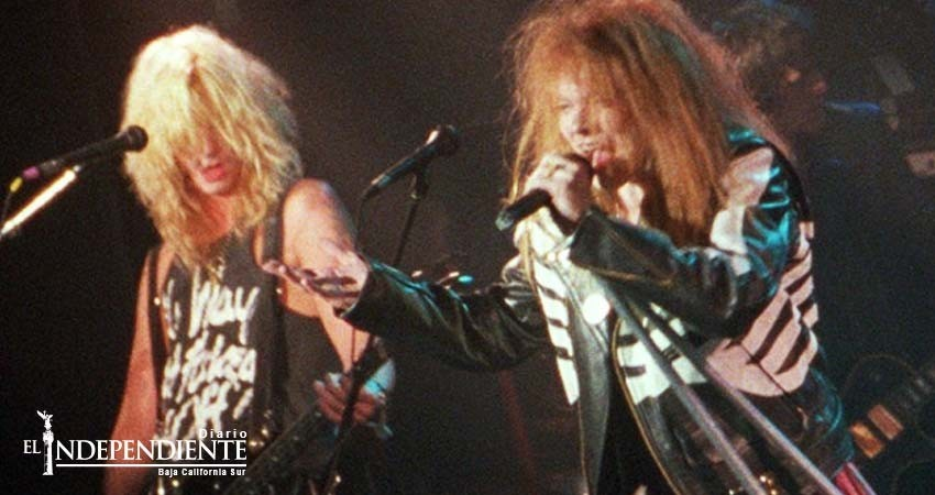 Guns N' Roses lanza video inédito de 'It's so easy'