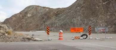 """Por veda, SCT se niega a informar sobre reparaciones de carretera dañada por """"Lidia"""""""