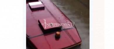 La fuerte lluvia inundó el Tren Eléctrico de Guadalajara