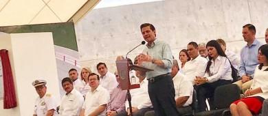 Anuncia Peña Nieto carretera 4 carriles La Paz - Pichilingue