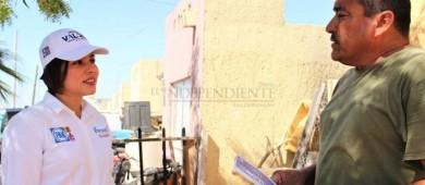 Propone Michelle Valdez que los ayuntamientos recluten a 3 policías por cada 1,000 habitantes