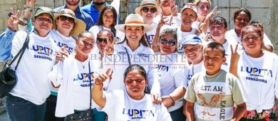 Gestionaré recursos para becas a fin de evitar deserción escolar: Lupita Saldaña