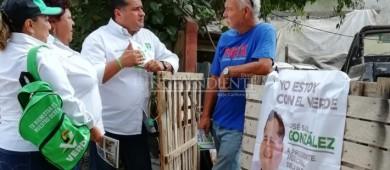 La reconciliación con los ciudadanos ya inició desde los primeros minutos de mi campaña: Saúl González Núñez.
