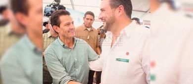 Enrique Peña Nieto le cumple a Baja California Sur: Barroso