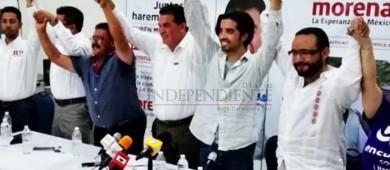 Se integra excandidato del PANAL a la alcaldía de La Paz a campaña de Rubén Muñoz
