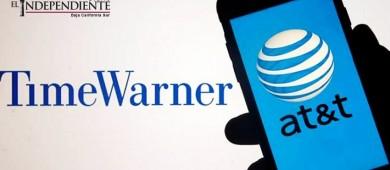 AT&T cierra acuerdo de 85 mil mdd por Time Warner