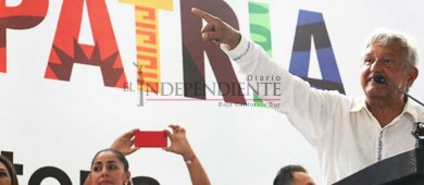 'Vale más que sobre y no que falte; todos a votar': AMLO a seguidores